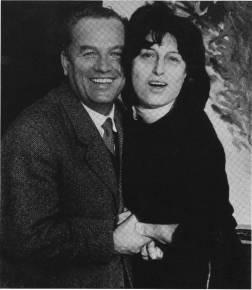 L'autore con Anna Magnani che acquistò il soggetto per farne un film importante