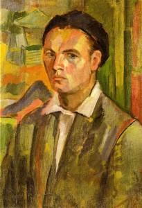 Autoritratto. L'opera si trova al Museo degli Uffizi di Firenze